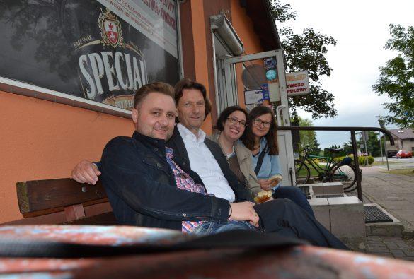 Lukasz Rezepcynski, Michael Mamlock, Dr. Gabriele Bergner, Anna Kolera